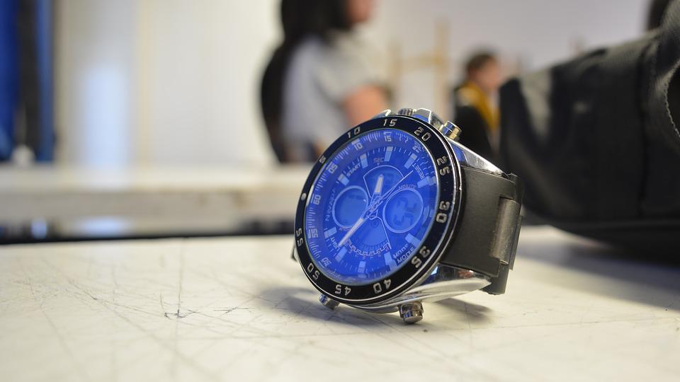 Clock, Photo, Background