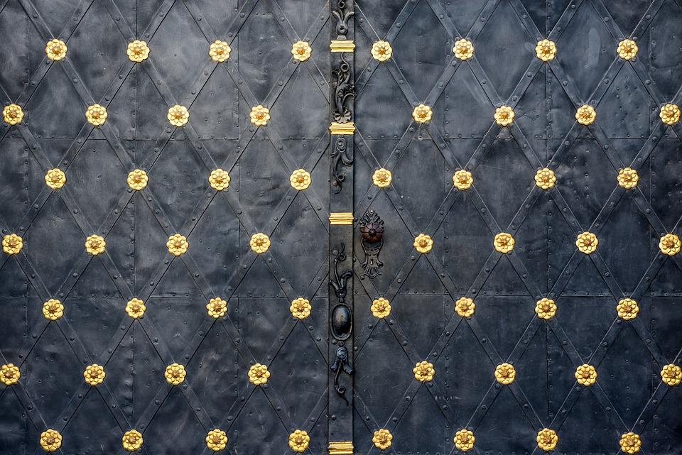 Gate, Iron, Metal, Texture, Background, Closeup, Detail