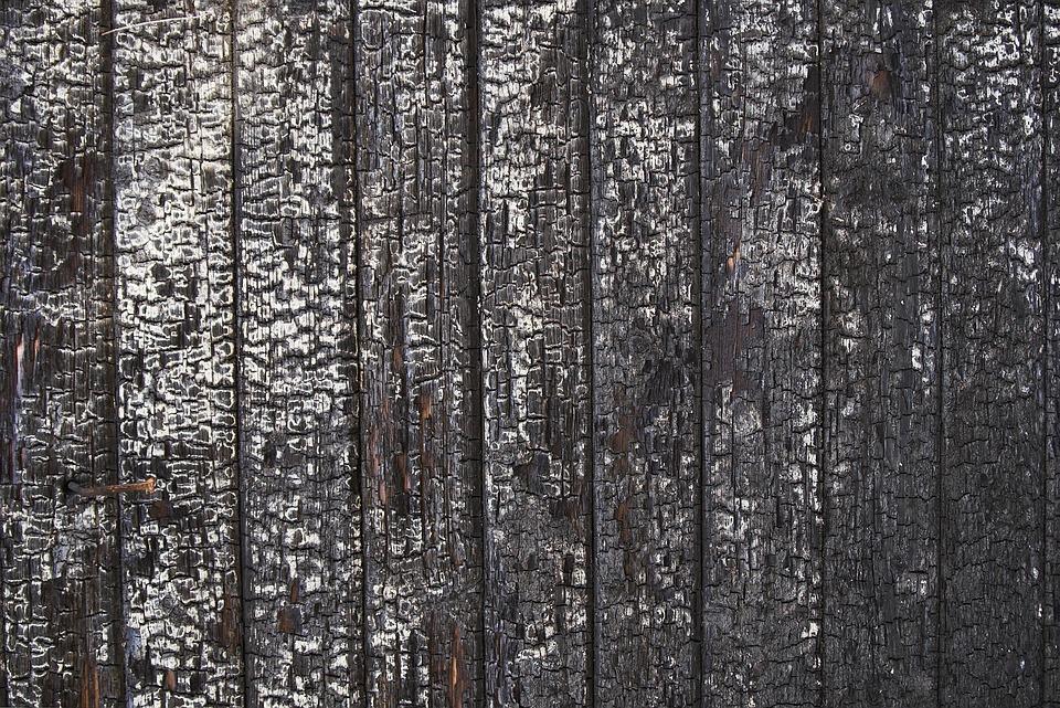 Wood, Burnt, Texture, Background, Coal, Charred, Board