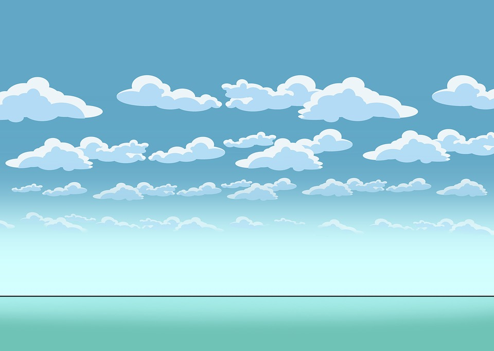 Background, Sky, Weather, Nature, Clouds, Comic