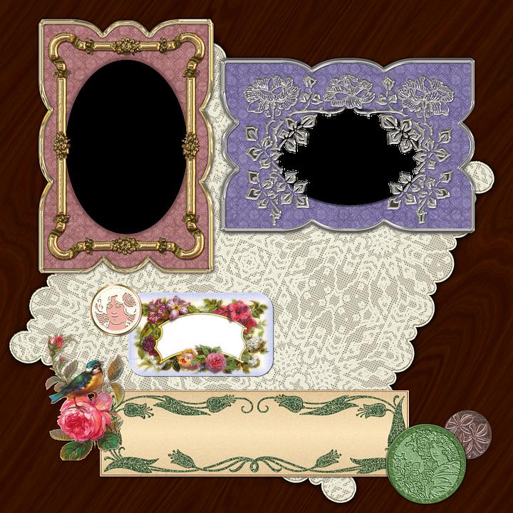 Scrapbook, Scrap, Background, Page, Craft, Frame