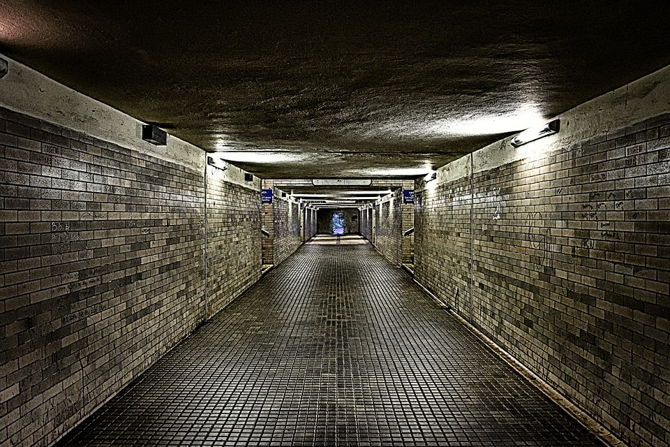 Wallpaper, Background, Fear, Dark, Tunnel, Warning