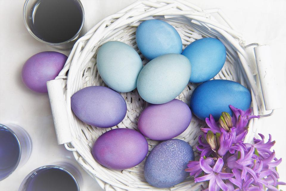 Easter, Egg, Background, Color, Celebration, Give, Food