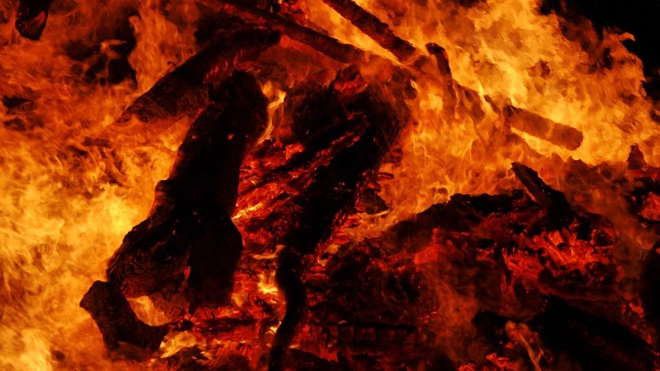 Easter Fire, Background, Fire, Karsamstang