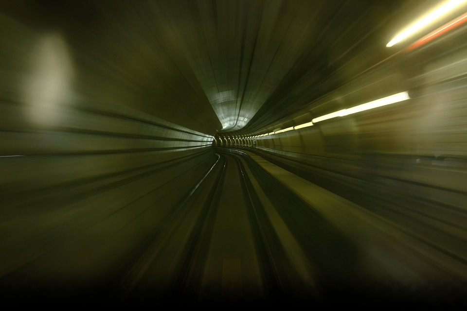 Tunnel, Background, Zoom, Mood, Road, Effect