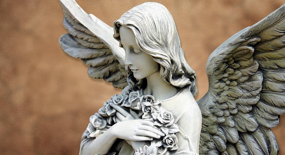 Angel, Guardian Angel, Figure, Background, Faith