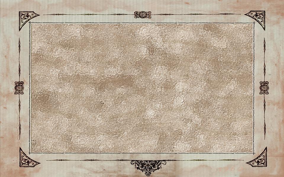 Frame, Background, Surface, Brown Frame