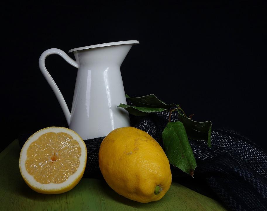 Lemon, Fruit, Food, Juice, Background, Still Life