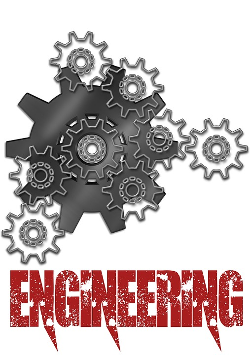 Engineering, Gears, Poster, Background, Equipment