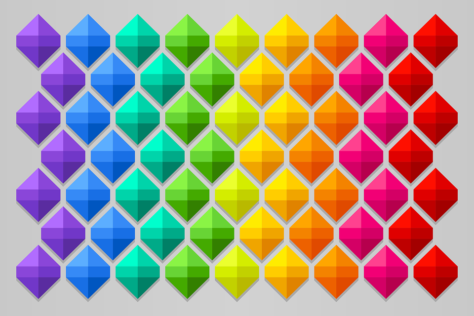 Background, Colorful, Geometric