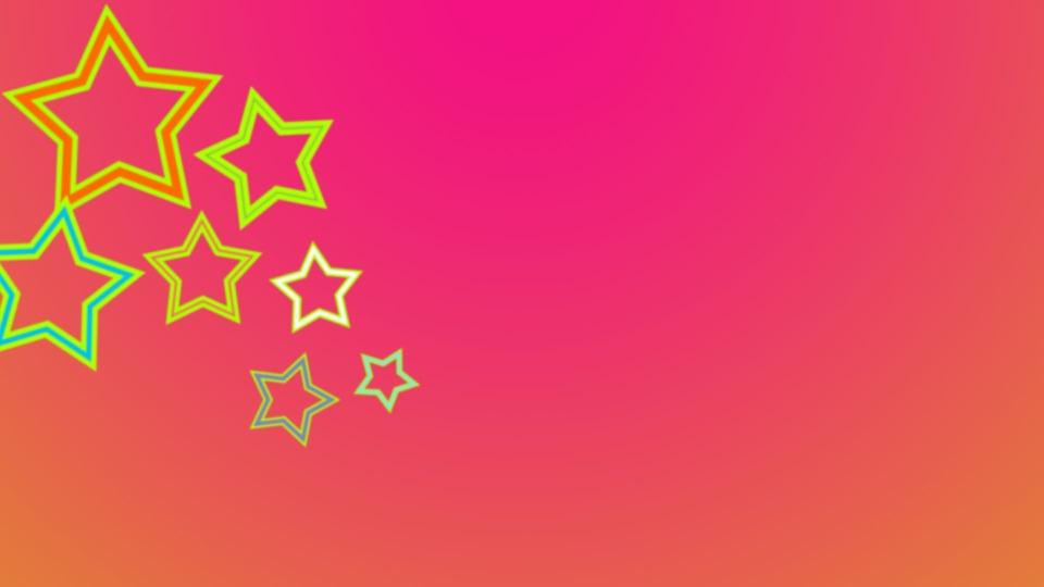 Background, Stars, Rosa, Yellow, Girl