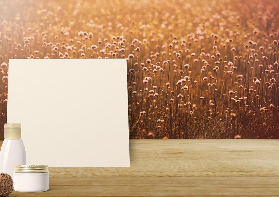 Background Image, Cosmetics, Flowers, Cream, Vessel