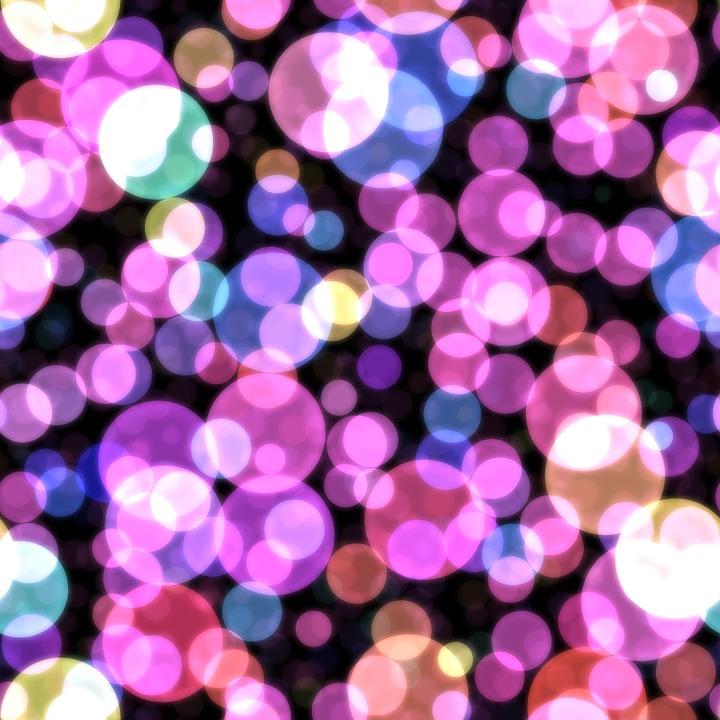 Bokeh, Hot Pink, Purple, Wallpaper, Background, Lights
