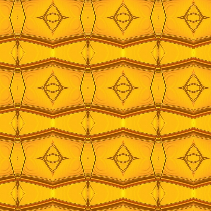 Background, Pattern, Yellow, Orange, Abstract, Grid