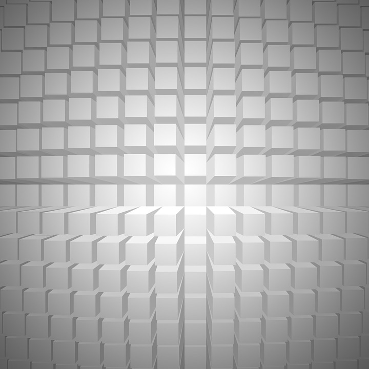Abstract, Background, Grey, Blocks, Shapes, Pattern