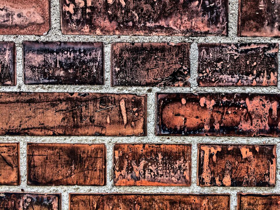 Brick, Wall, Old, Pattern, Cement, Texture, Background