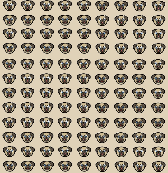 Puppy, Dog, Pug, Pup, Graphic, Wallpaper, Background