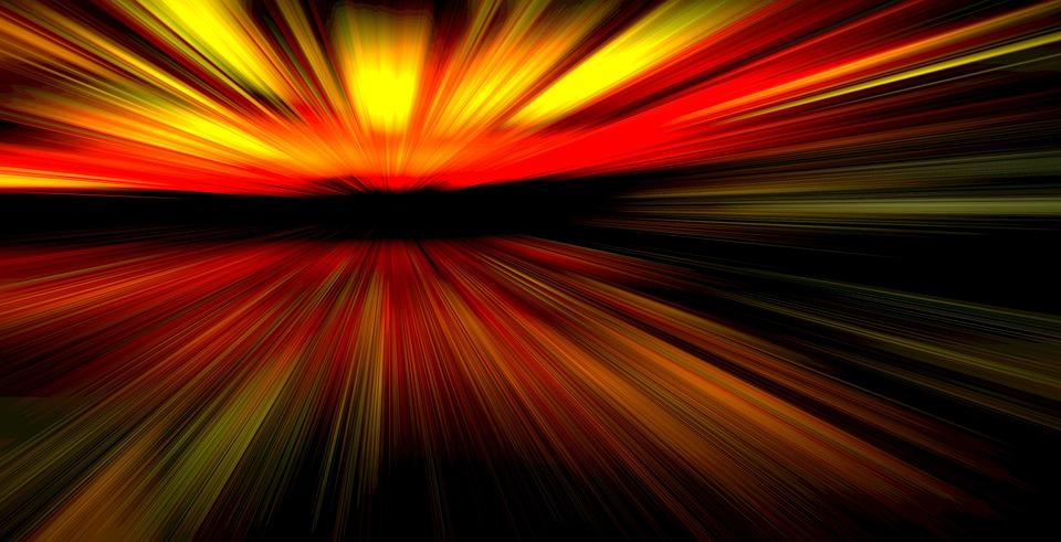 Blur, Movement, Background, Rays, Background Image