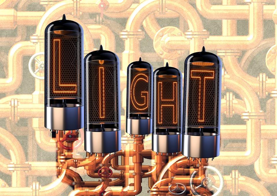 Light, Steampunk, Background, 3d, Pipe, Lighting