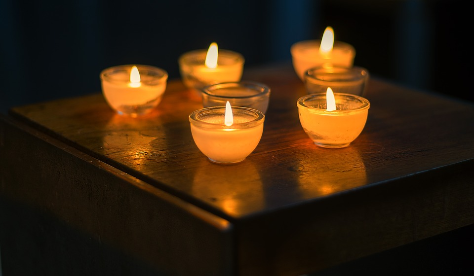 Background, Candles, Tea Lights, Candlelight, Religion