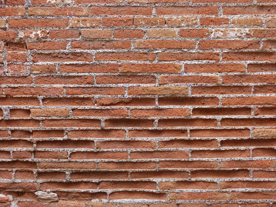 Brick, Wall, Texture, Background, Worn