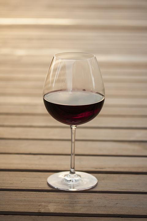 Wine, The Drink, Wood-fibre Boards, Red, Background