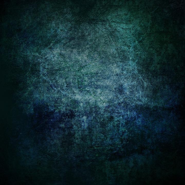 Background, Grunge, Vintage, Old, Structure, Dark, Blue