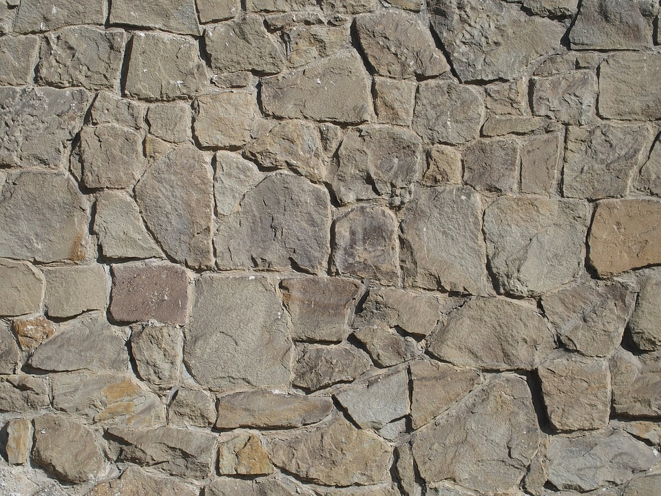 Stone, Wall, Texture, Brown, Background