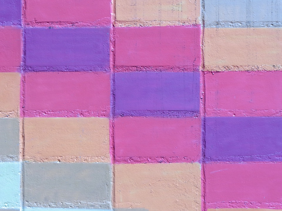 Background, Bricks, Wall, Colors, Pastel, Texture