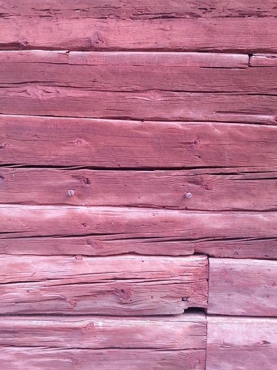 Wood, Architecture, Wall, Boards, Pink, Background