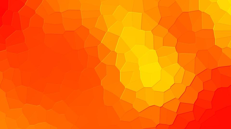 Background, Warm, Colours, Red, Yellow, Orange, Pixel