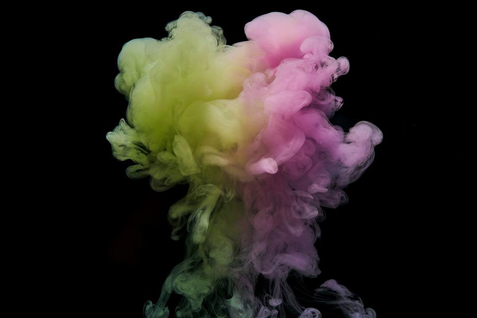 Abstract, Ink, Water, Colors, Background, Macro