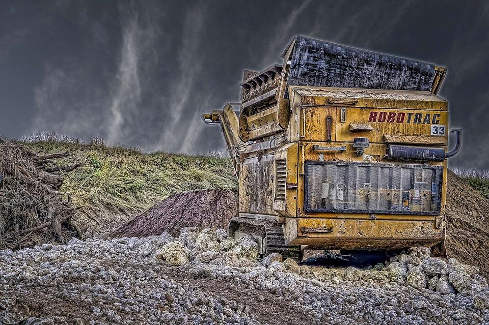 Backhoe, Construction Equipment, Highways