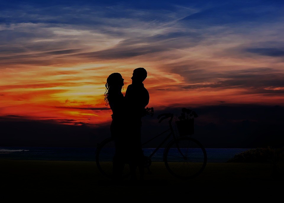 Sunset, Dusk, Silhouette, Backlit, Evening, Silhouetted