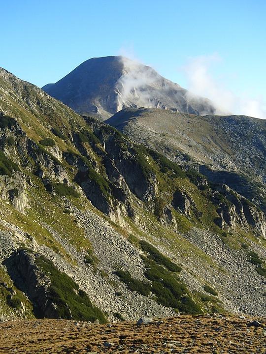 Mountain, Hiking, Backpack