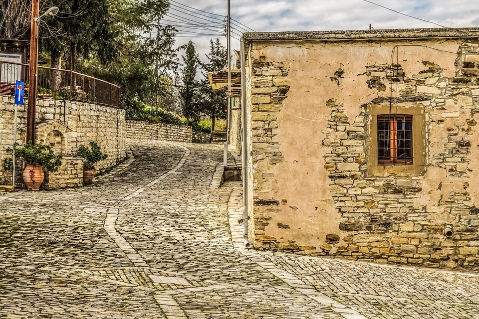 Stone, Old, Wall, Backstreet, Architecture, Traditional