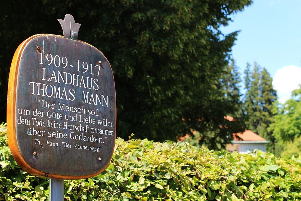 Bad Tölz Germany, Thomas Mann, Country House