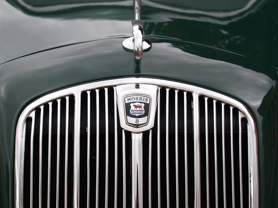 Morris, Car Grill, Badge