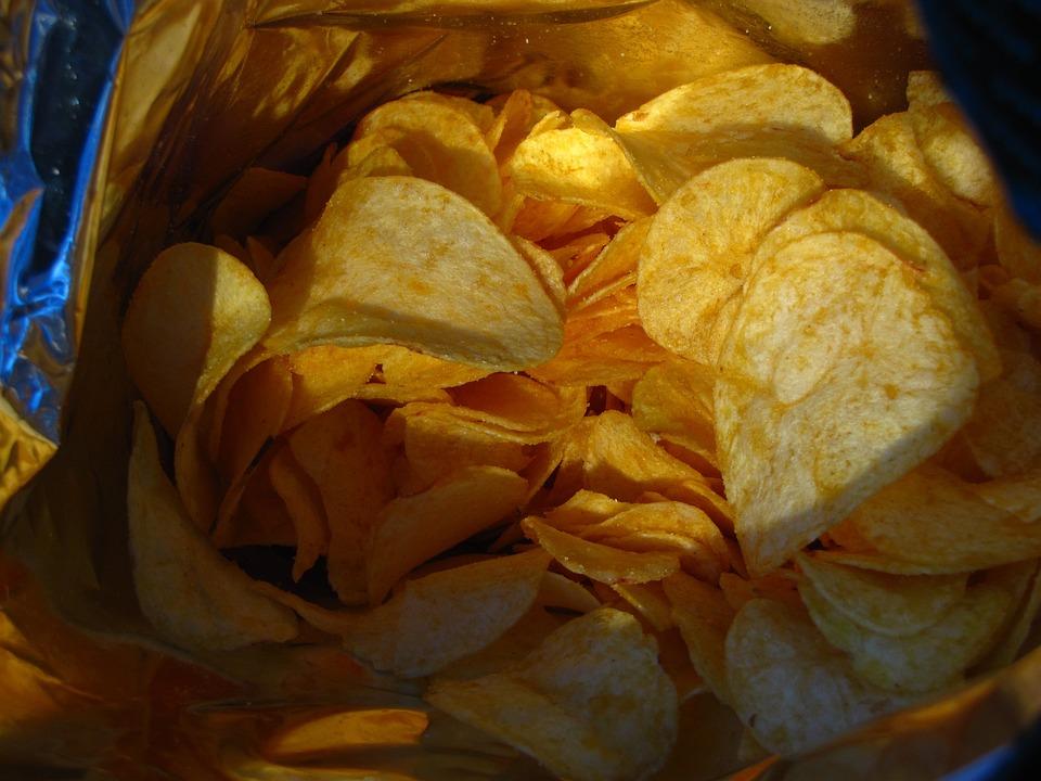 Chips, Food, Cuddly, Bag, Snack