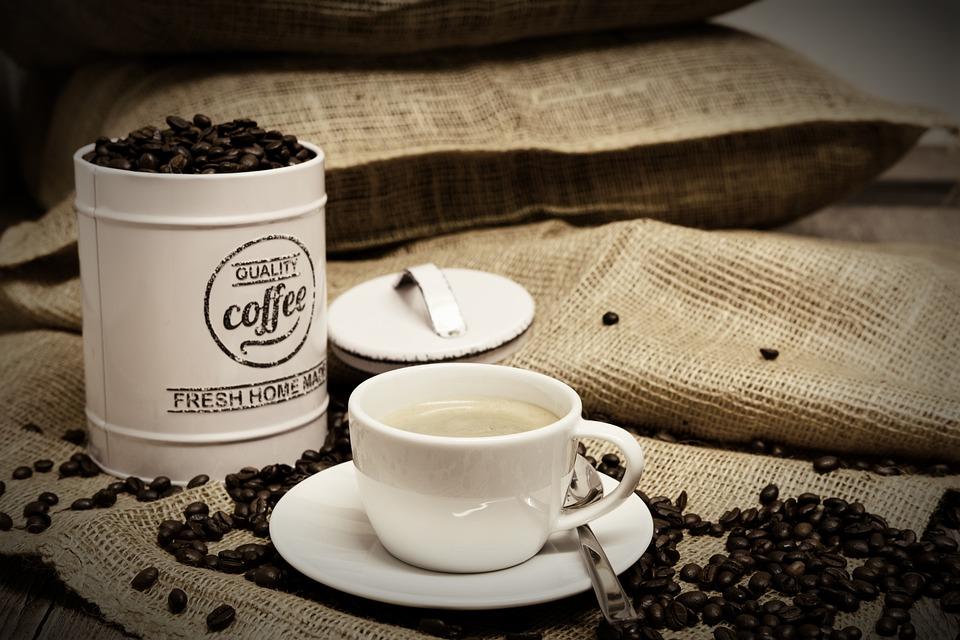 Coffee, Coffee Beans, Coffee Cup, Cup, Bag, Coffee Bags