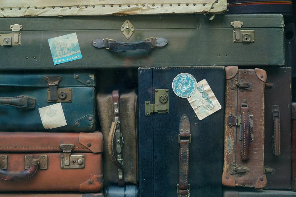 Baggage, Luggage, Bag, Suitcase, Travel