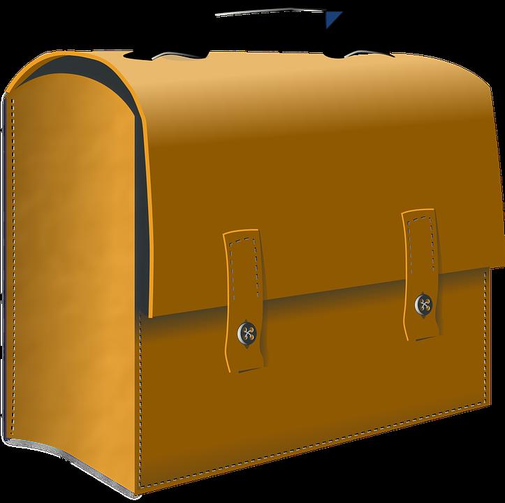 Suitcase, Leather, Case, Trunk, Bag
