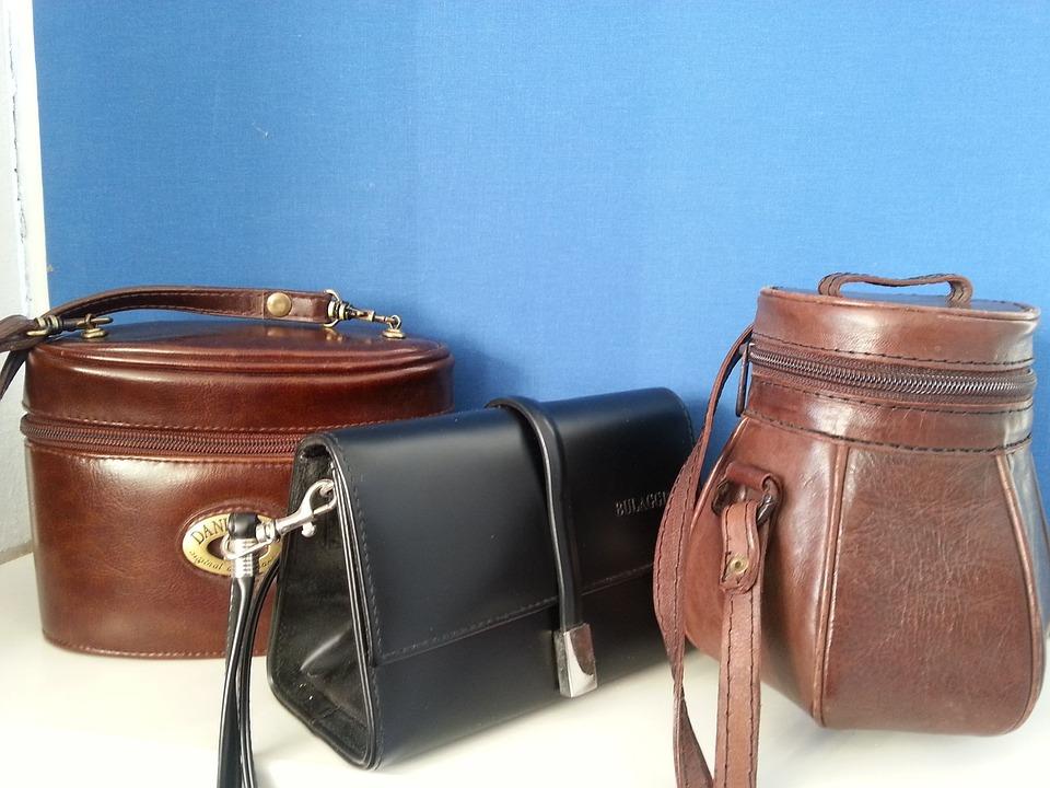 Bags, Three, Fashion, Brown, Black