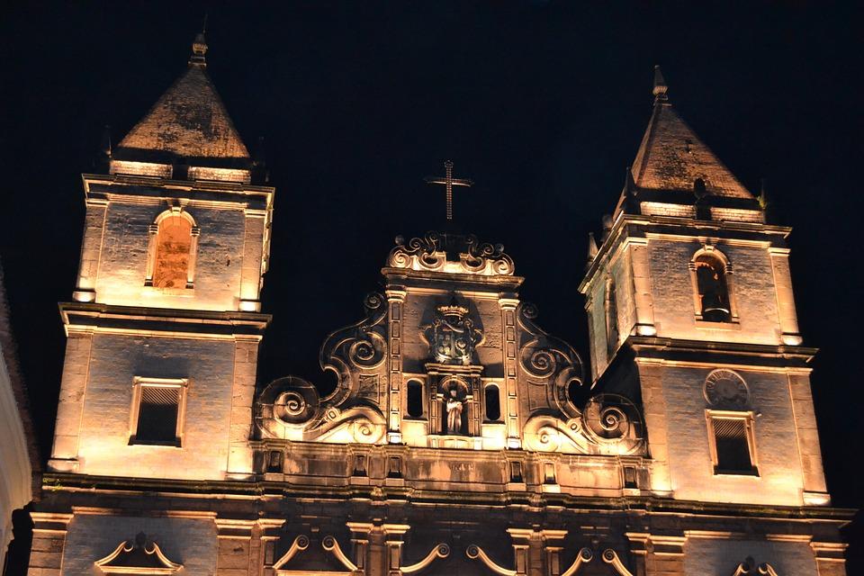 Church, Brazil, Salvador, Bahia