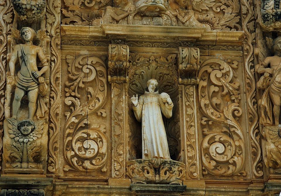 Brazilwood, Bahia, Statue, São Francisco Church, Portal