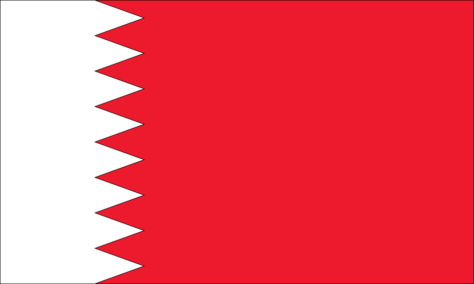 Flag, Country, Bahrain