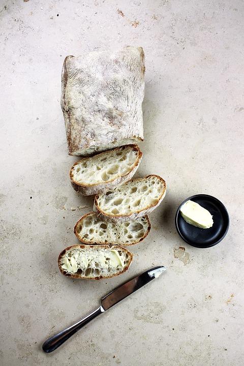 Knife, Slice, Bread, Bake, Food