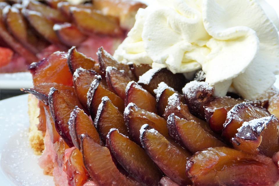 Zwetschgendatschi, Plum Cake, Plums, Bake, Cream, Cake