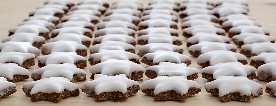 Zimtstern, Christmas Cookies, Christmas, Bake, Cookie