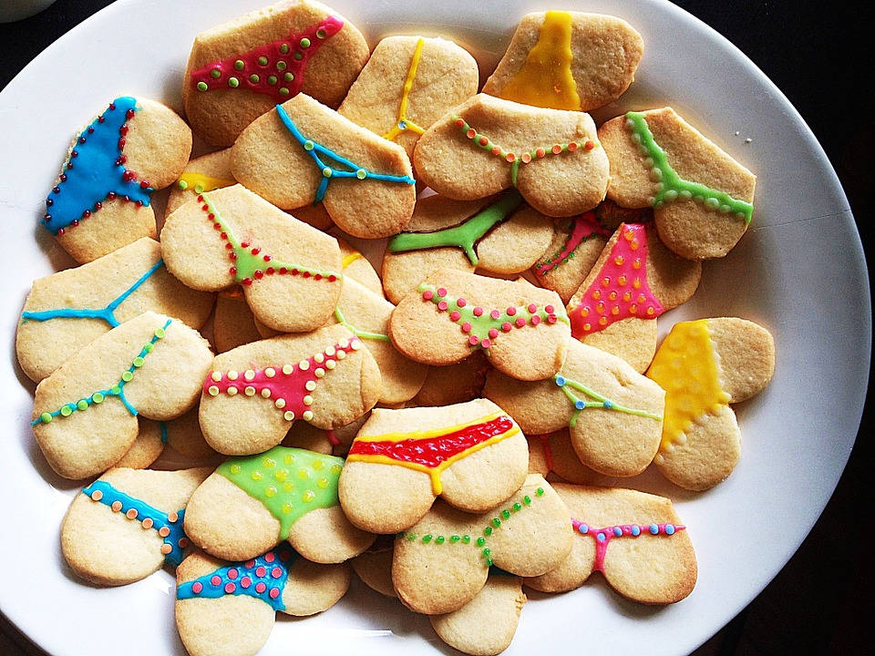 Cookies, Colorful, Butt, Bake, Delicious, Christmas